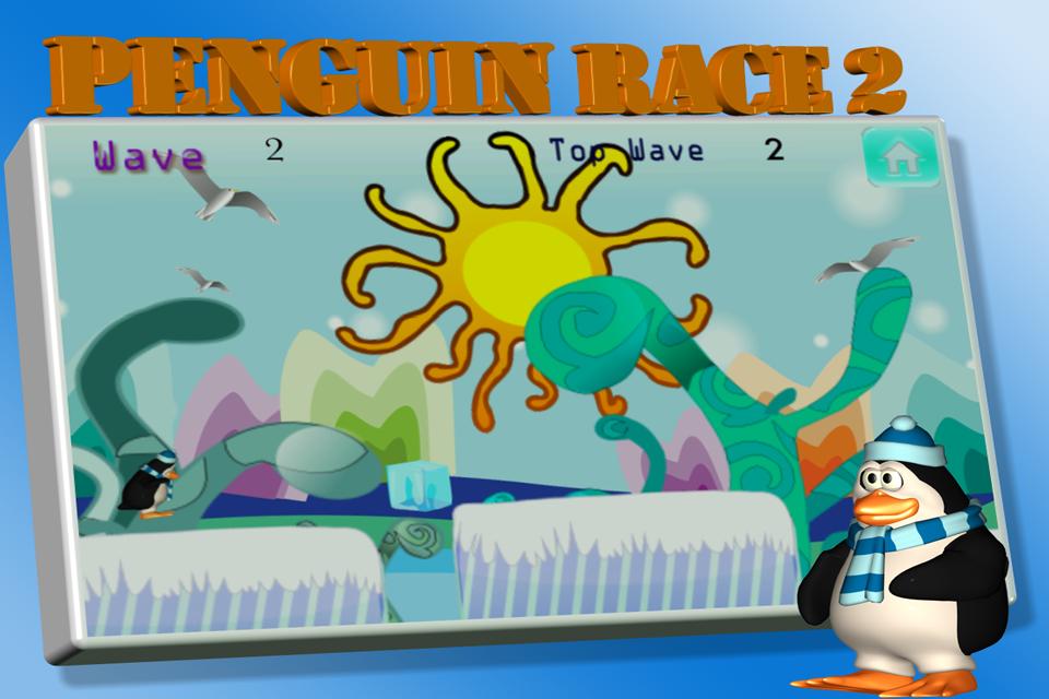 Screenshot Penguin Race 2