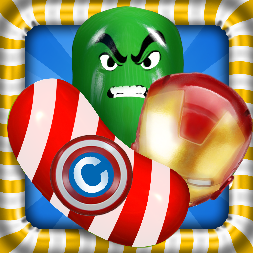 A Candy Heroes – The sweet Puzzle Avengers